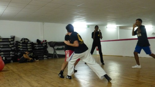 Savate defense pour BADSABOX 10